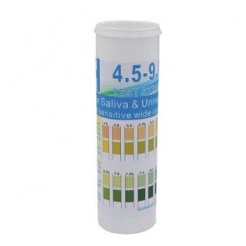 Индикаторная (Лакмусовая) бумага. 4.5 - 9.0. ПШ полоски - 150 полосок