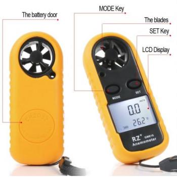 Анемометр крыльчатый - прибор для измерения скорости ветра, газов или воздуха