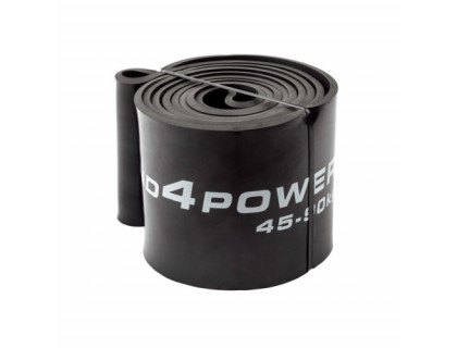 Черная резиновая петля (45-90 кг)