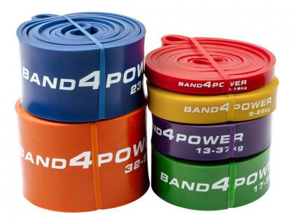 Комплект из 6 резиновых петель BanD4Power (нагрузка 3 - 80 кг)